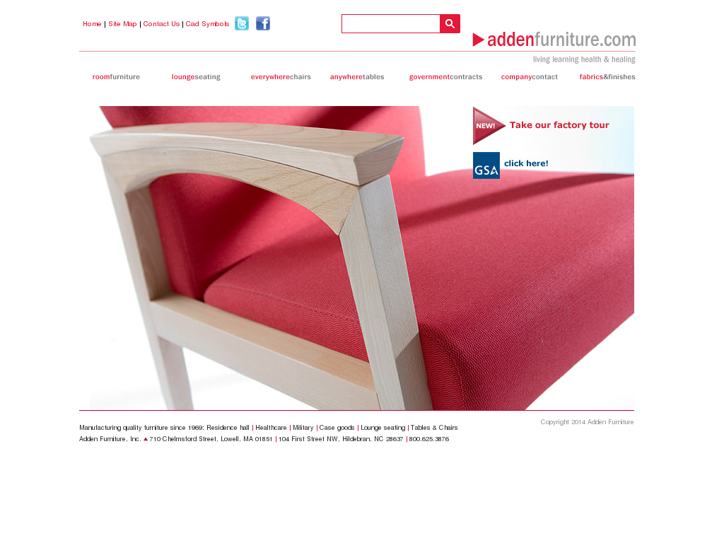 Perfect Adden Furniture Website History