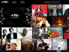Music Choice website history