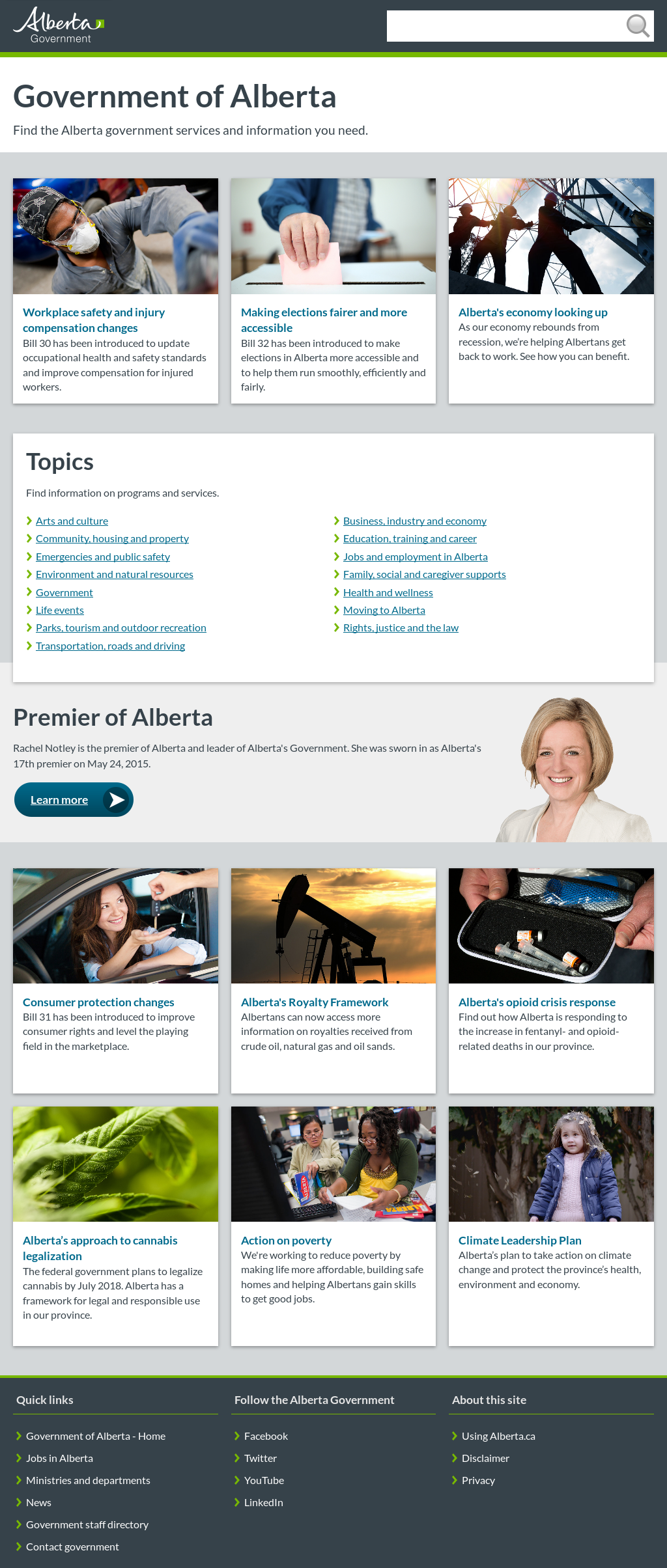 Owler Reports - Government of Alberta posted a video