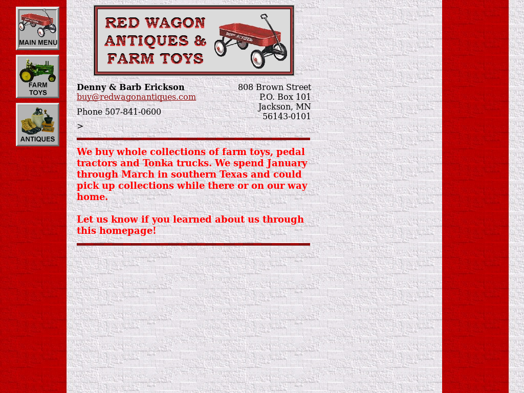 Red Wagon Antiques Farm Toys S Competitors Revenue Number Of Employees Funding Acquisitions News Owler Company Profile