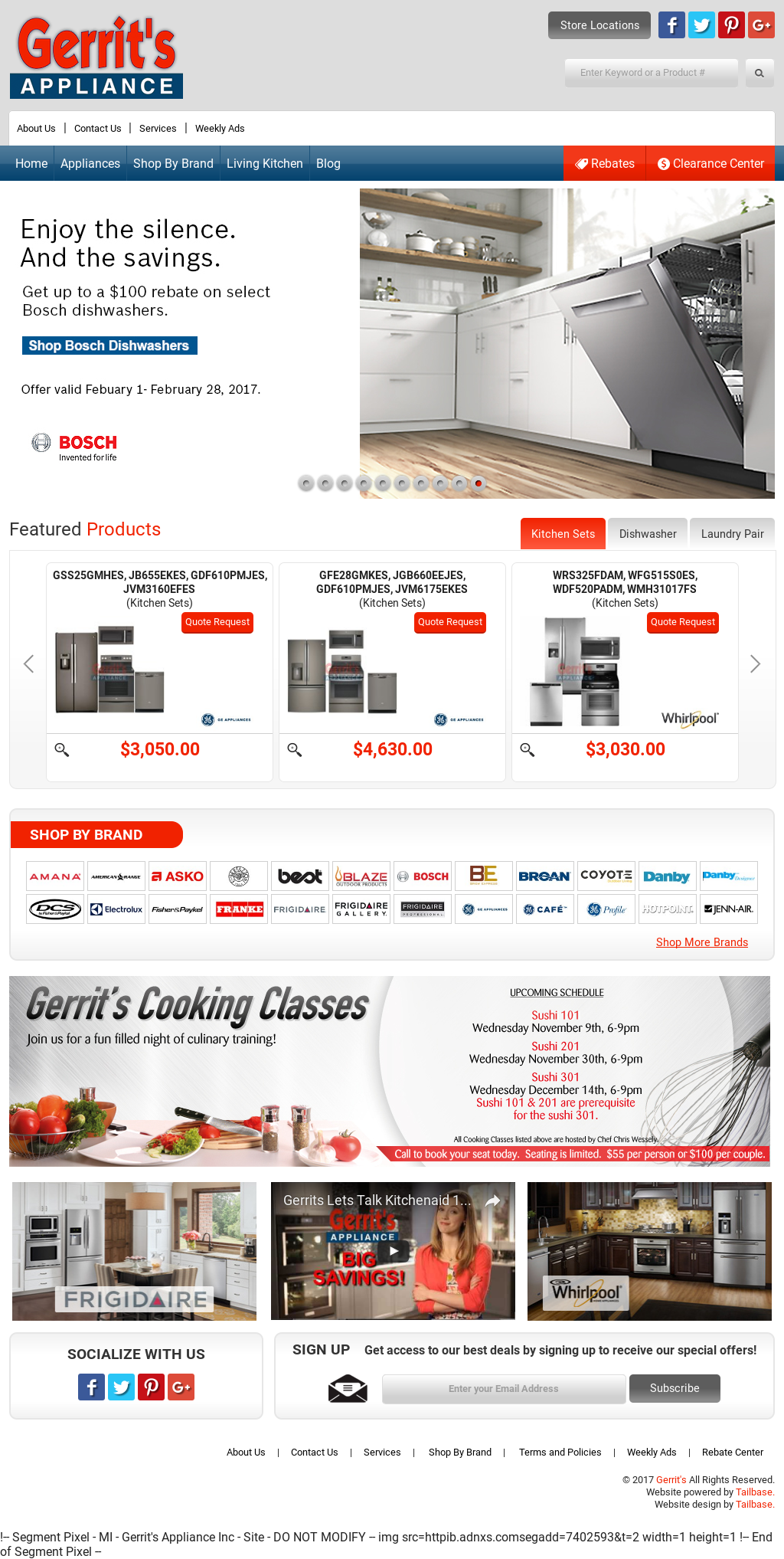 gerrit 39 s appliance competitors revenue and employees