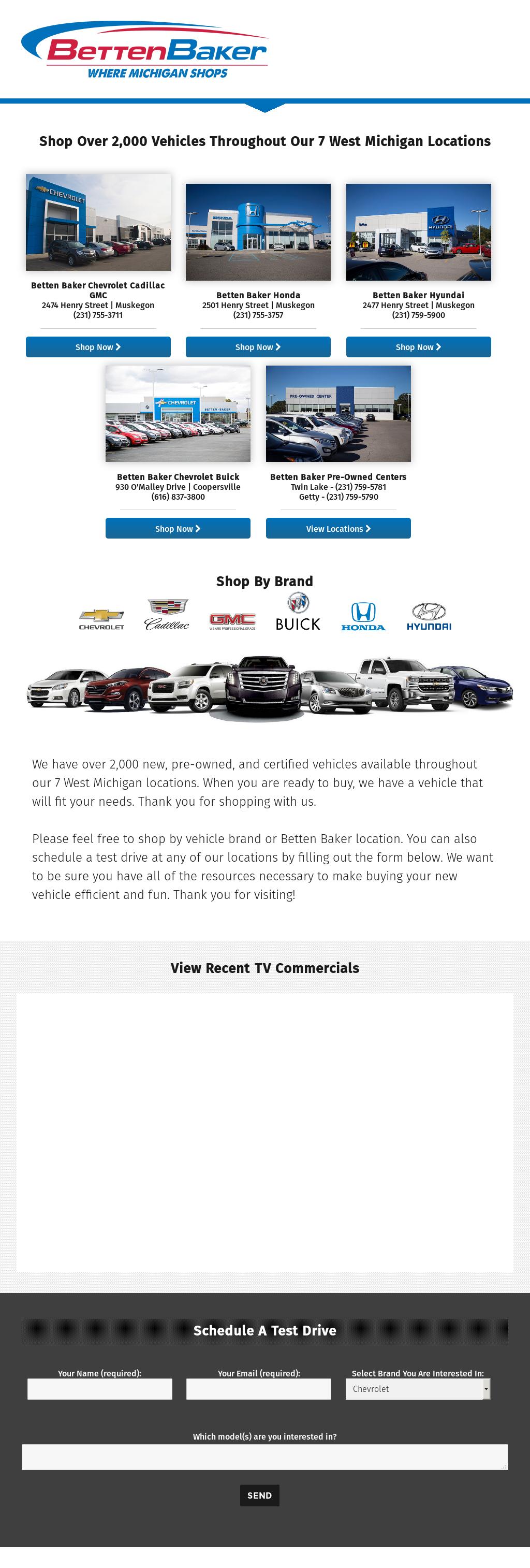 Betten Baker Chevrolet Buick Competitors Revenue And