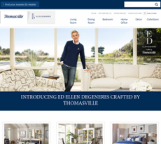 Thomasville Furniture Website History