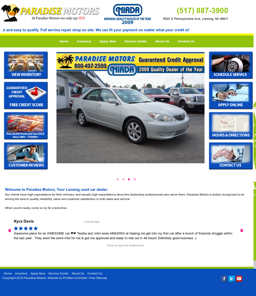 Paradisemotors Competitors, Revenue and Employees - Owler Company Profile