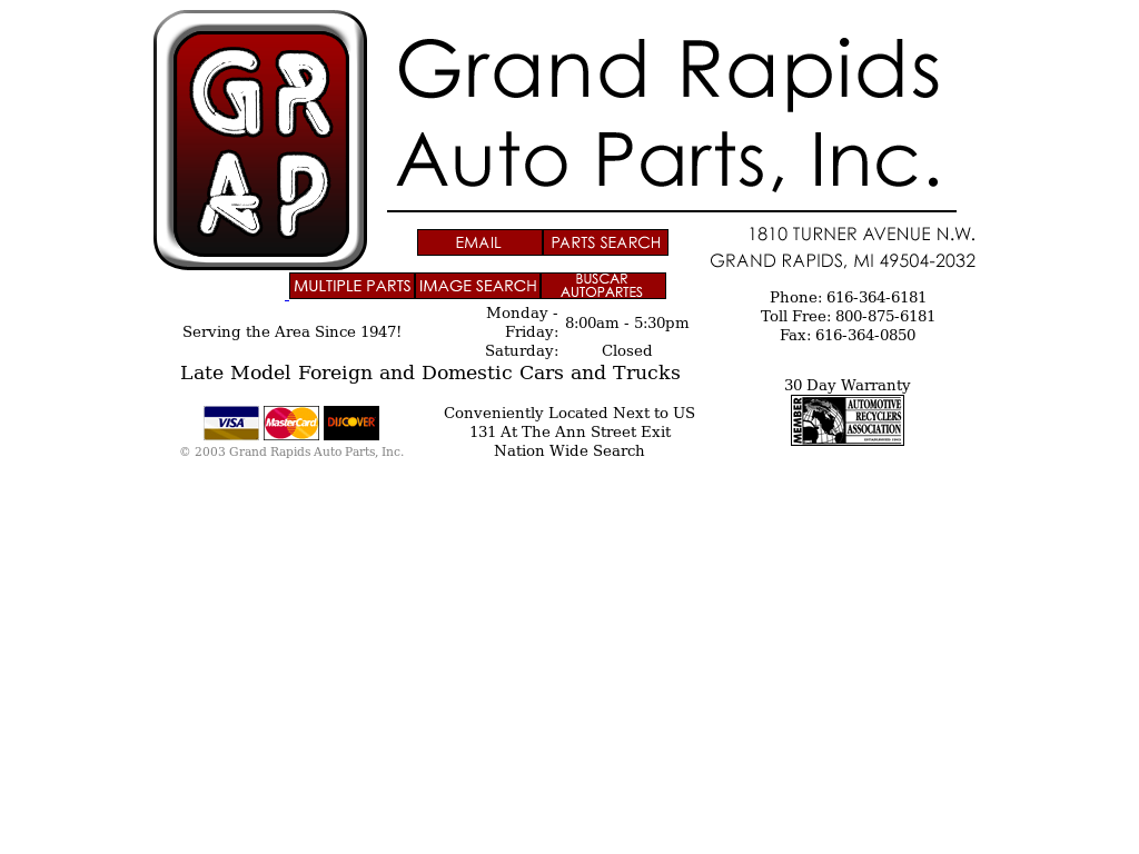 Grand Rapids Auto Parts >> Grand Rapids Auto Parts Competitors Revenue And Employees Owler