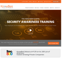 KnowBe4 Competitors, Revenue and Employees - Owler Company