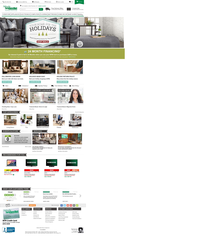 Nebraska Furniture Mart Competitors Revenue And Employees Owler