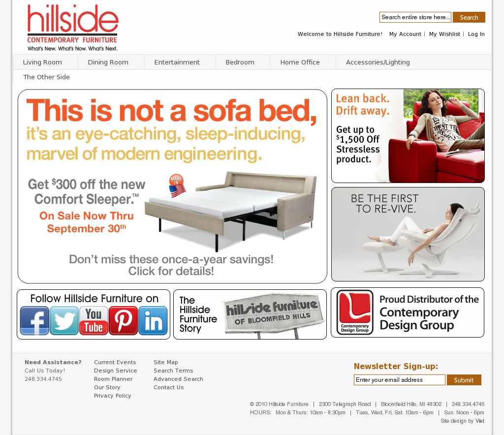 Hillside Furniture Competitors Revenue And Employees Owler