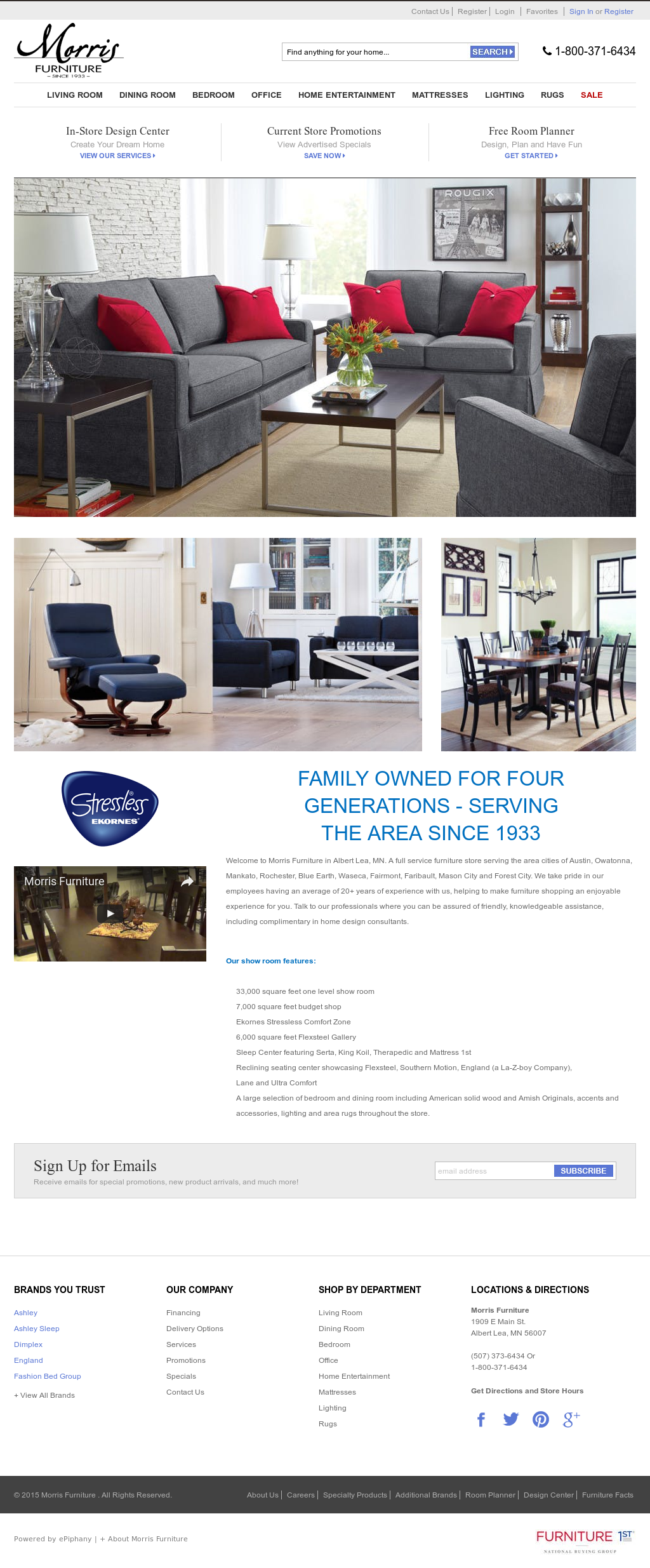 Morrisfurniture Competitors, Revenue And Employees   Owler Company Profile