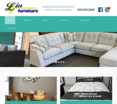 Lin Furniture Website History