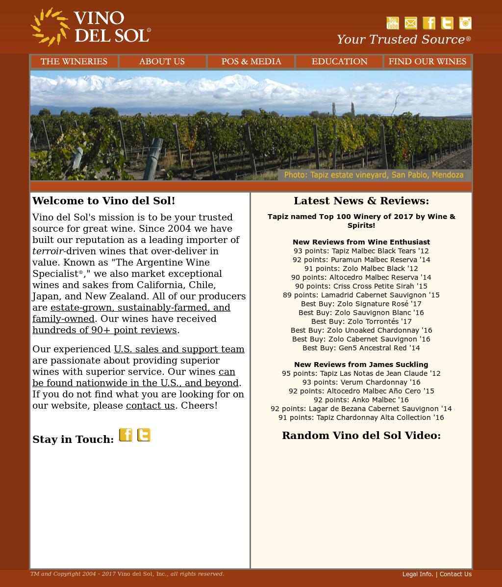 Vino Del Sol Competitors, Revenue and Employees - Owler
