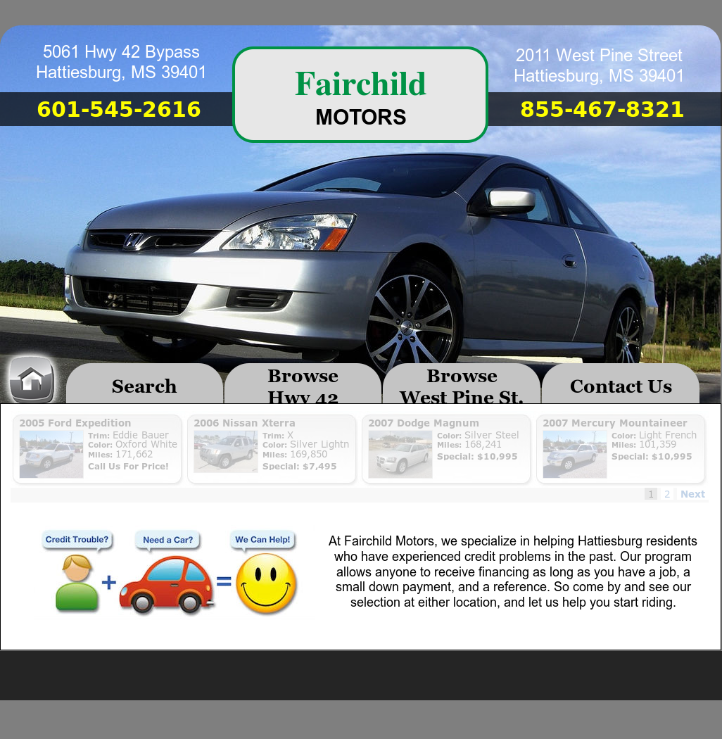 Fairchild Motors Competitors, Revenue and Employees - Owler