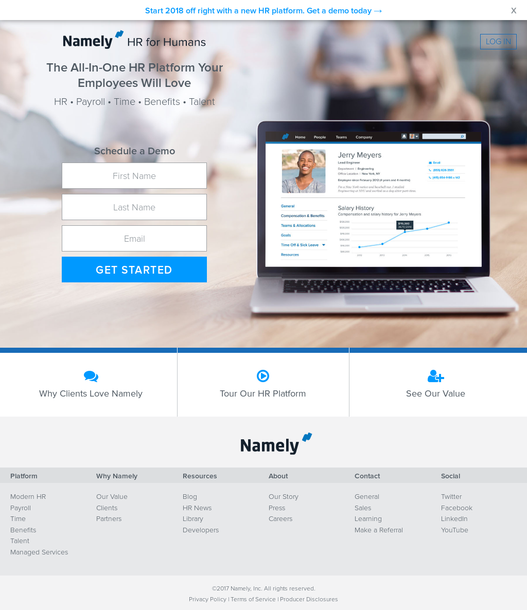 Namely Competitors, Revenue and Employees - Owler Company Profile