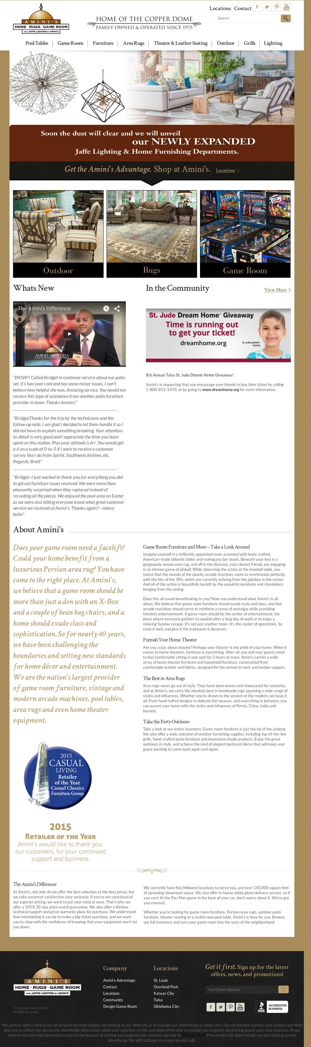 Aminiu0027s website history  sc 1 st  Owler & Aminiu0027s Competitors Revenue and Employees - Owler Company Profile