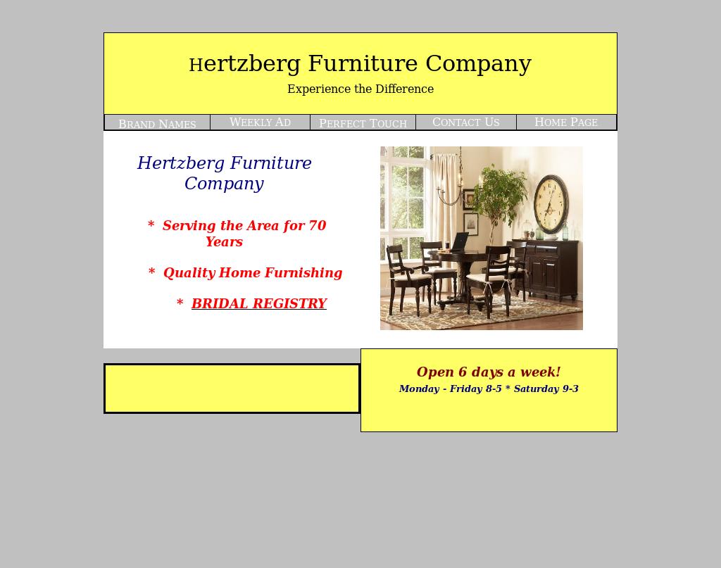 Hertzberg Furniture Compeors