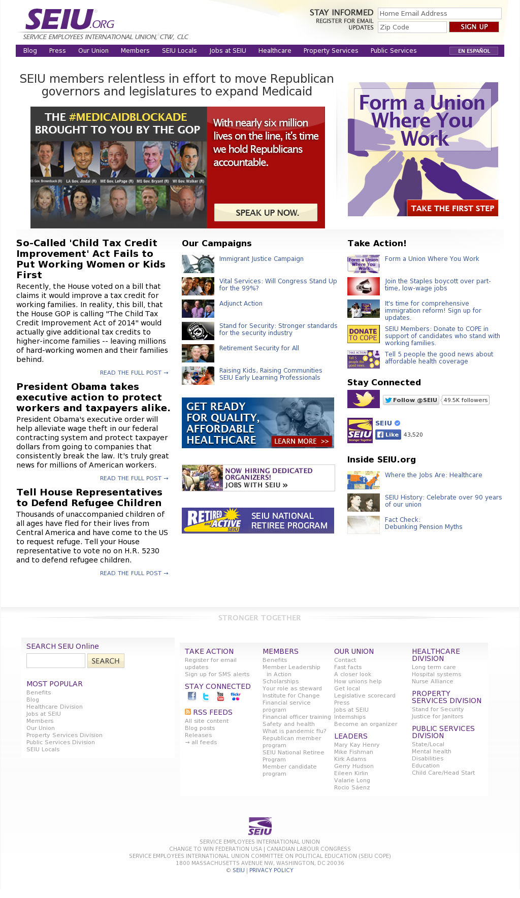 SEIU Competitors, Revenue and Employees - Owler Company Profile