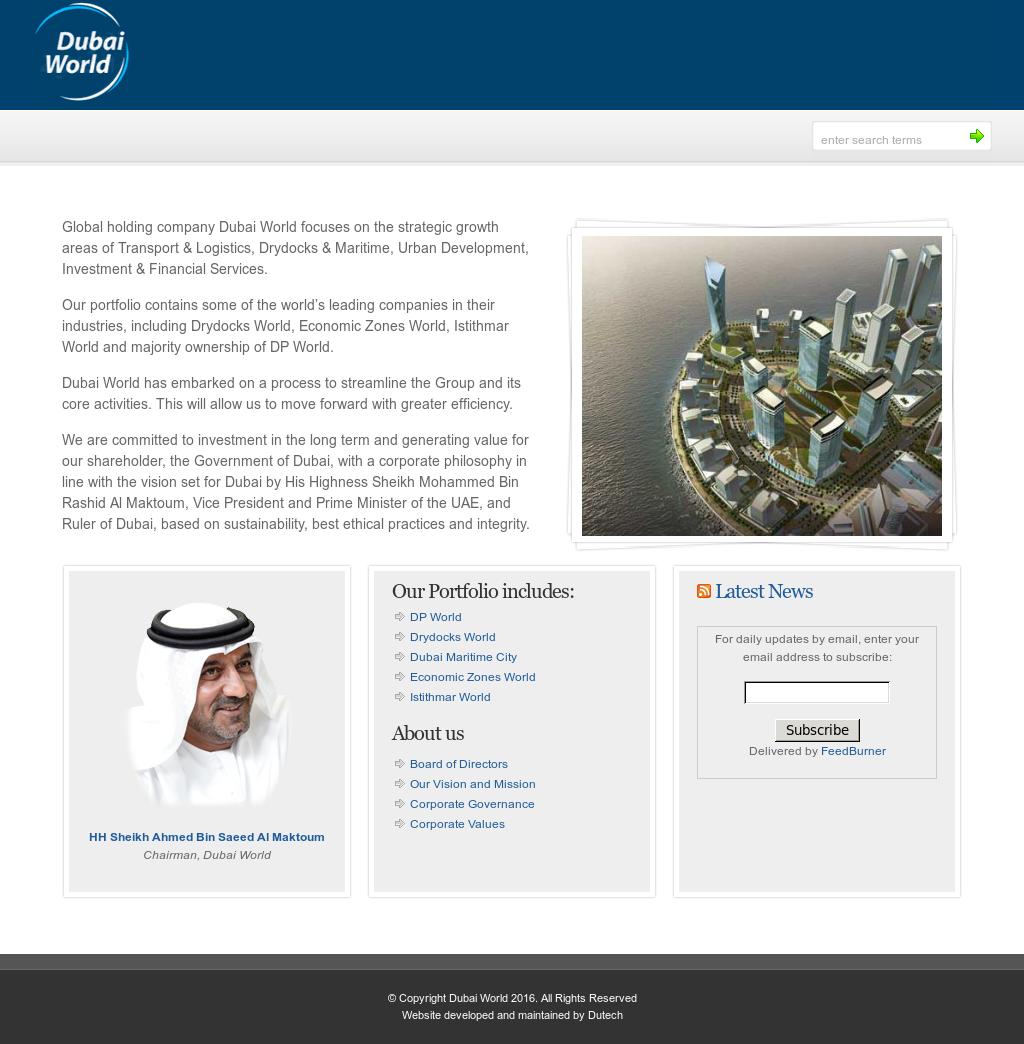 Dubai World Competitors, Revenue and Employees - Owler
