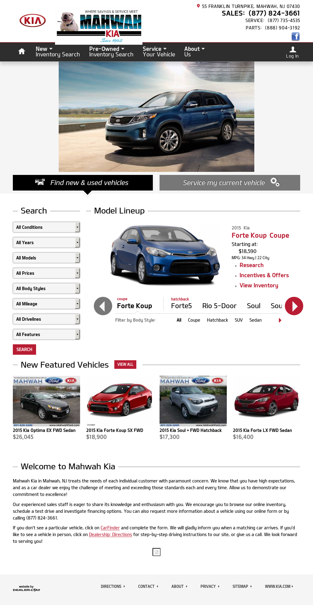 Mahwah Ford Service >> Mahwah Ford Kia Sales Service Competitors Revenue And Employees