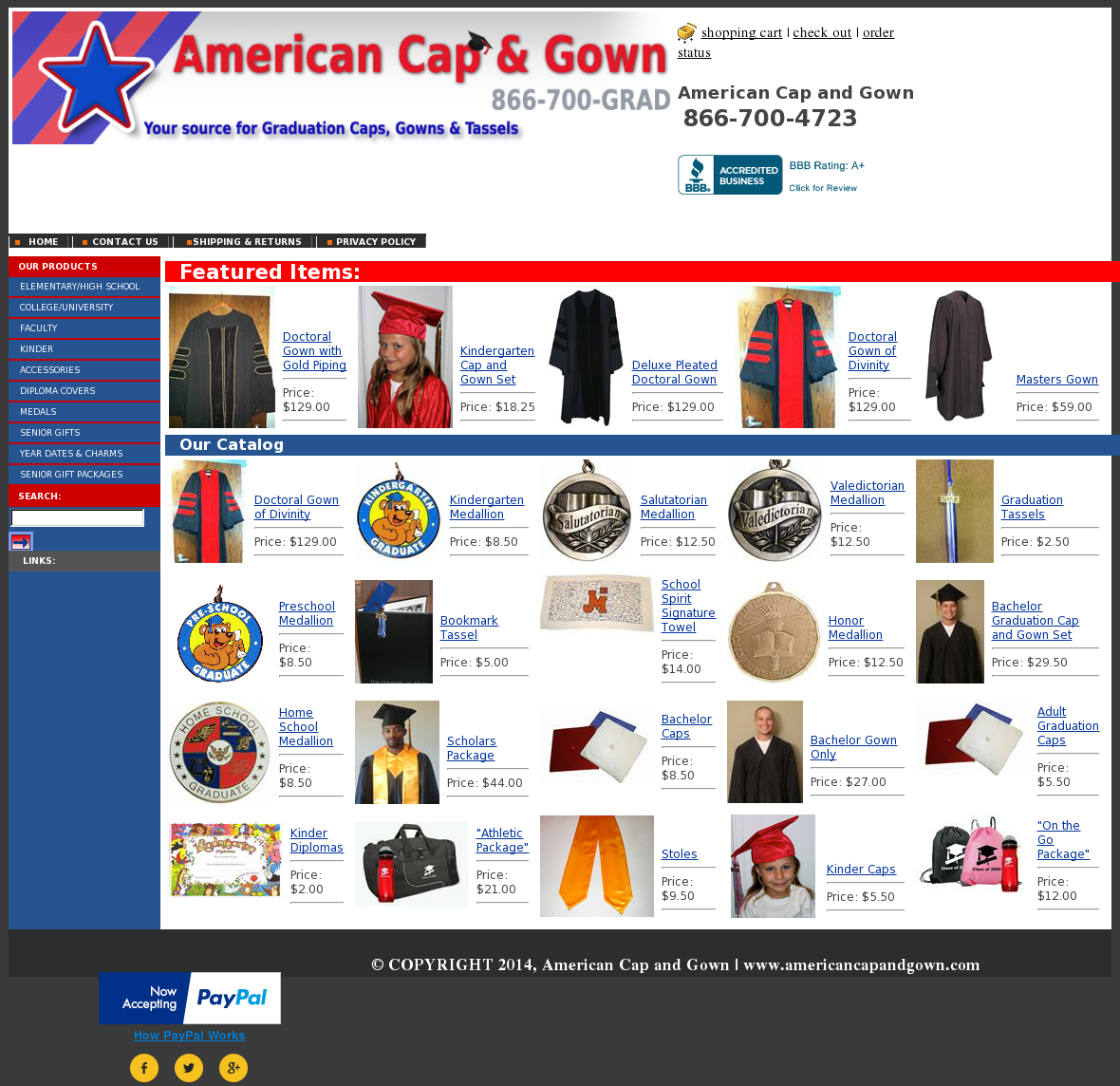 American Cap And Gown Competitors, Revenue and Employees - Owler ...