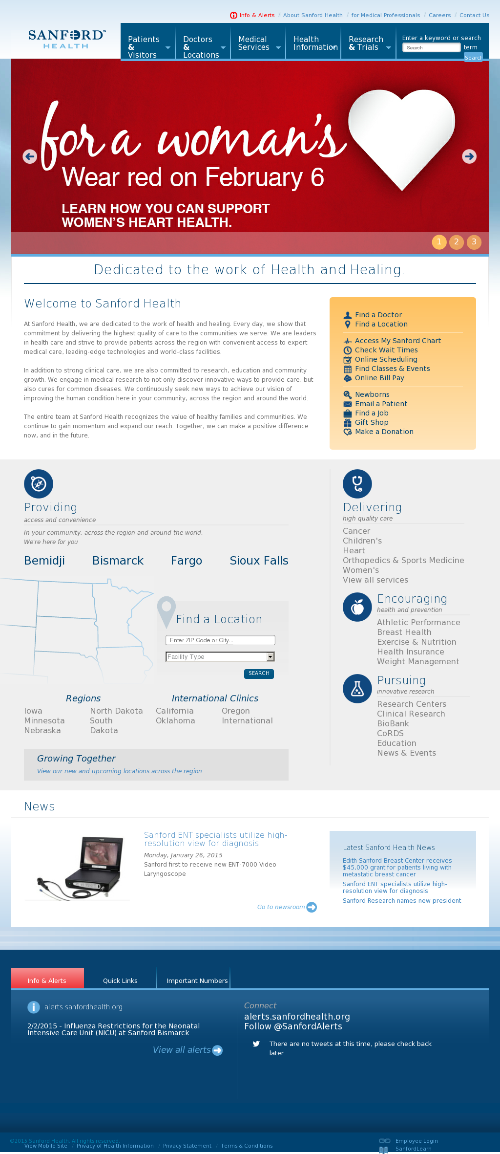 Owler Reports - Press Release: Sanford Health : Profile