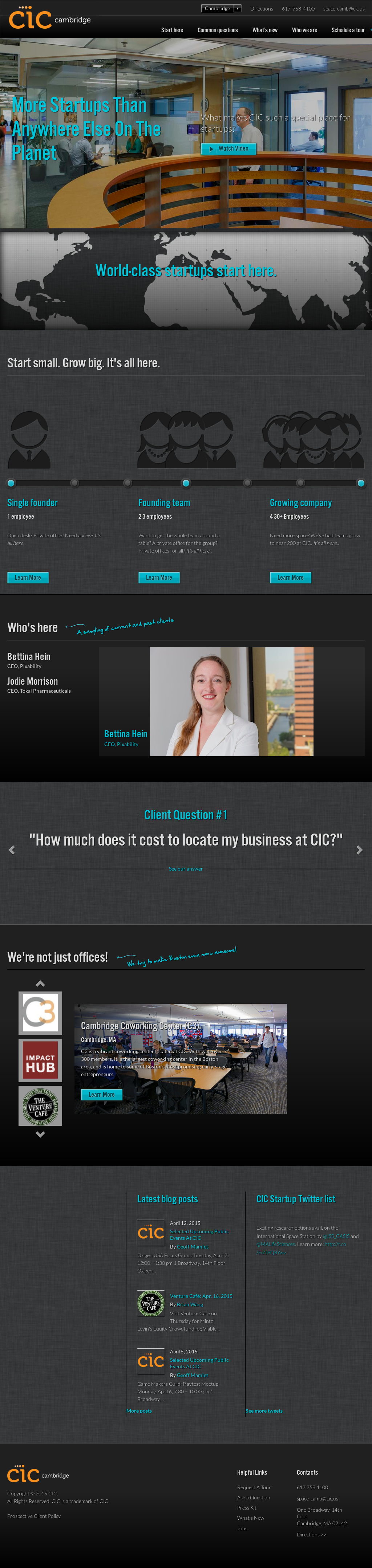 CIC Competitors, Revenue and Employees - Owler Company Profile