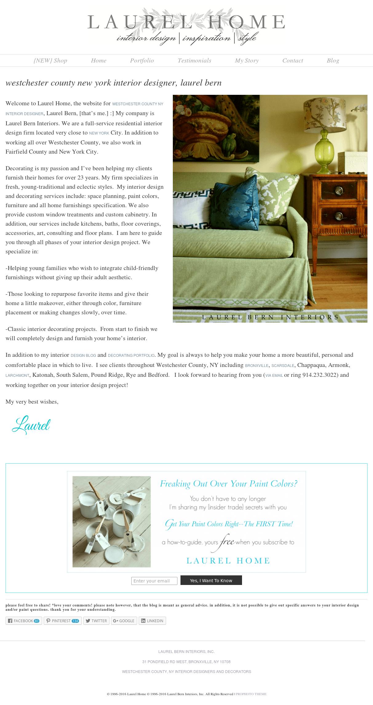 Laurel Bern Interiors Competitors, Revenue and Employees - Owler Company Profile