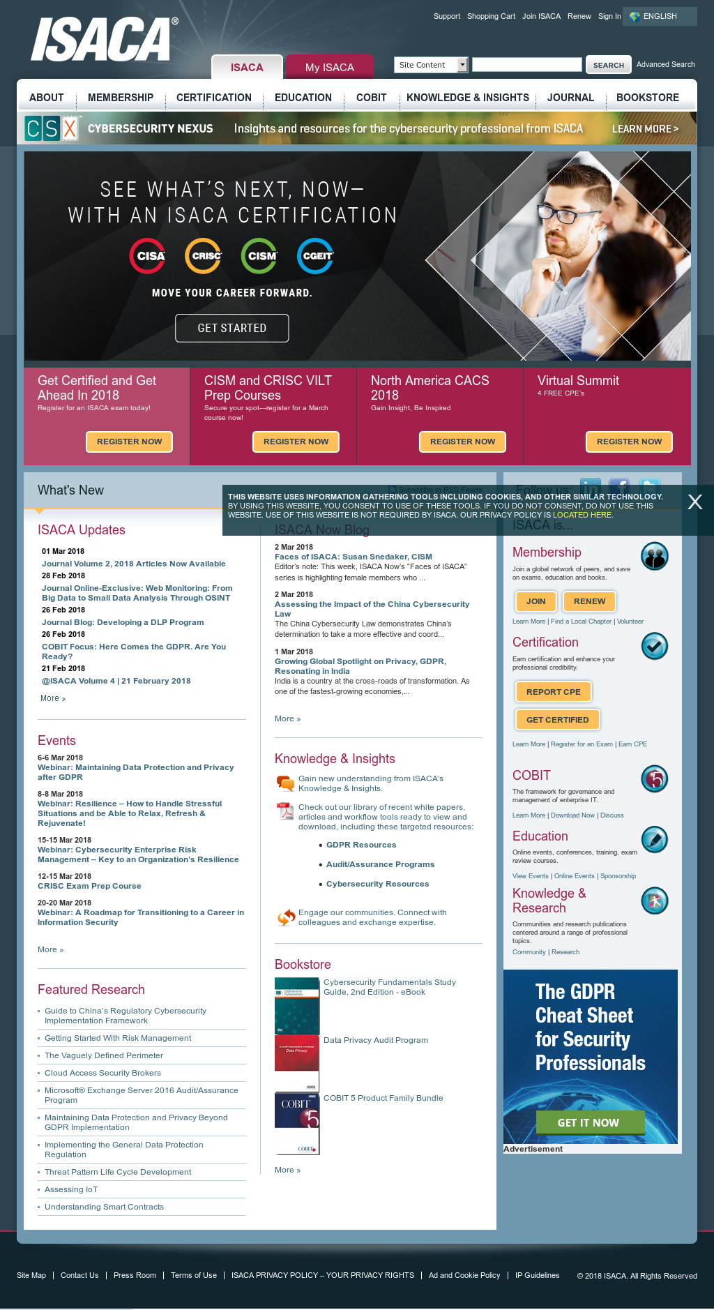 Isaca competitors revenue and employees owler company profile isaca website history fandeluxe Gallery