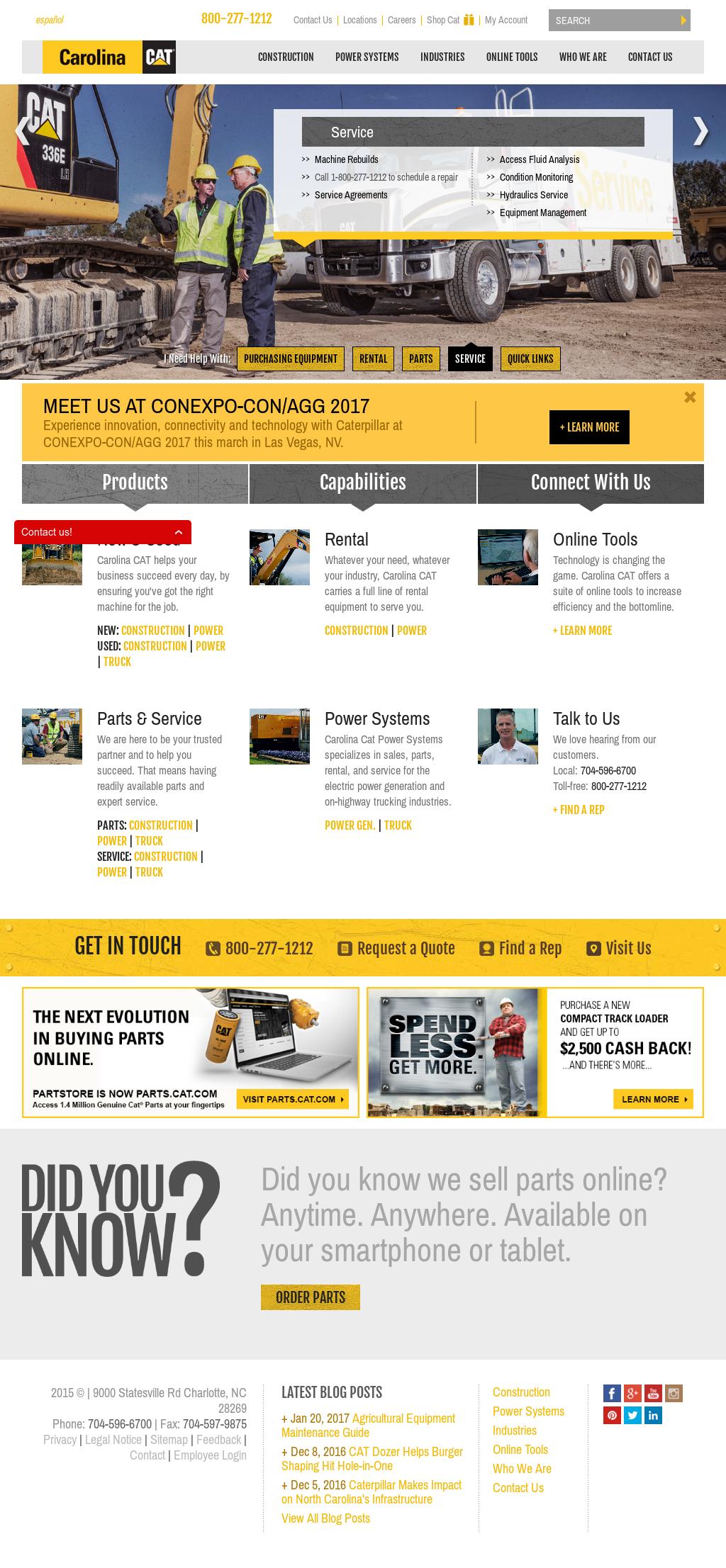 Carolina CAT Competitors, Revenue and Employees - Owler Company Profile
