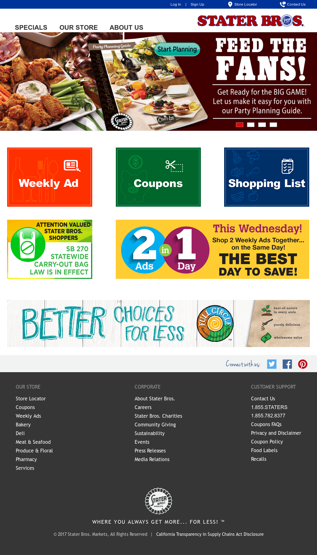 stater bros competitors revenue  employees owler company profile