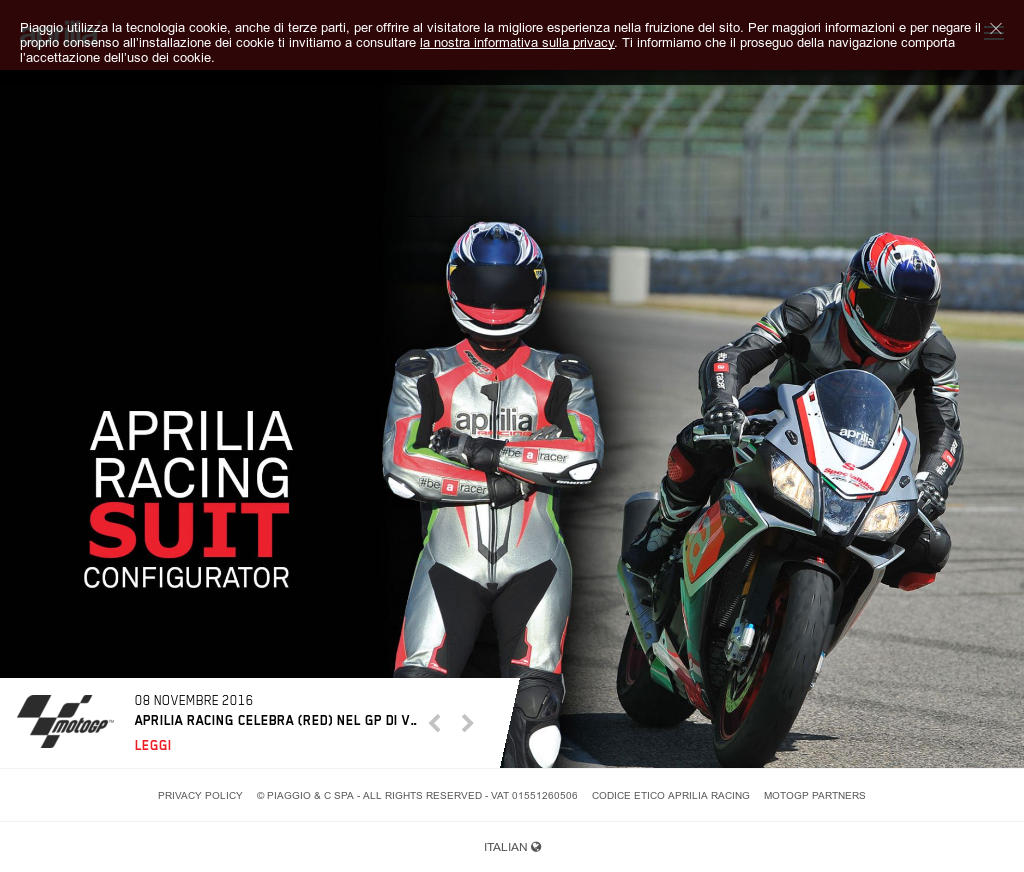 434fcb6d3a9b Owler Reports - Press Release  Aprilia Official   Aprilia Racing leans on augmented  reality at MotoGP to maintain peak bike performance
