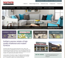 New Trend Furniture Website History