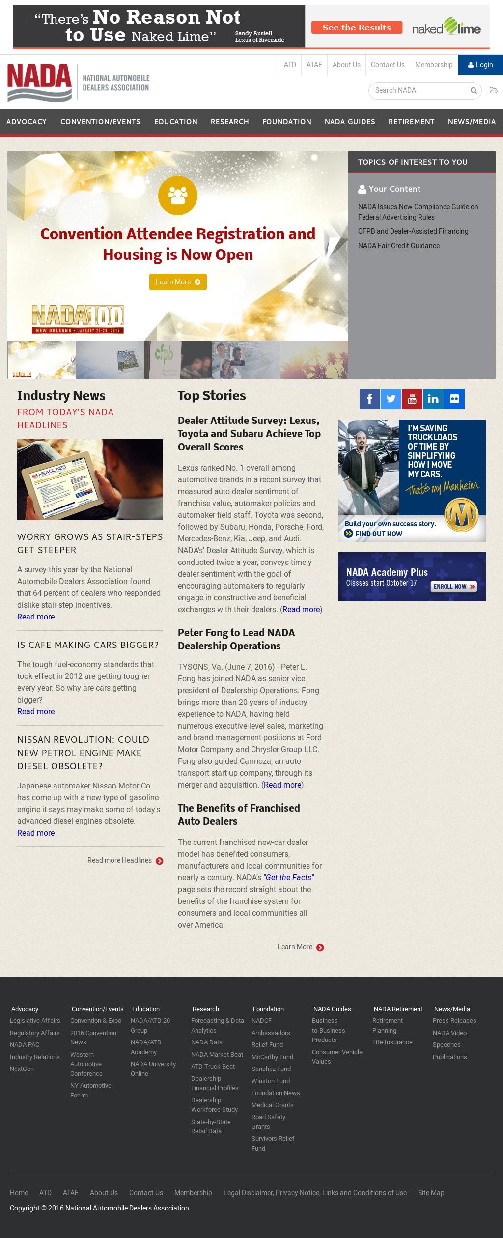 NADA Competitors, Revenue and Employees - Owler Company Profile