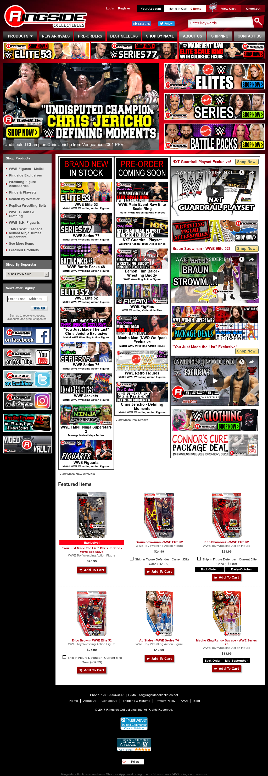 Ringside Collectibles Competitors, Revenue and Employees - Owler