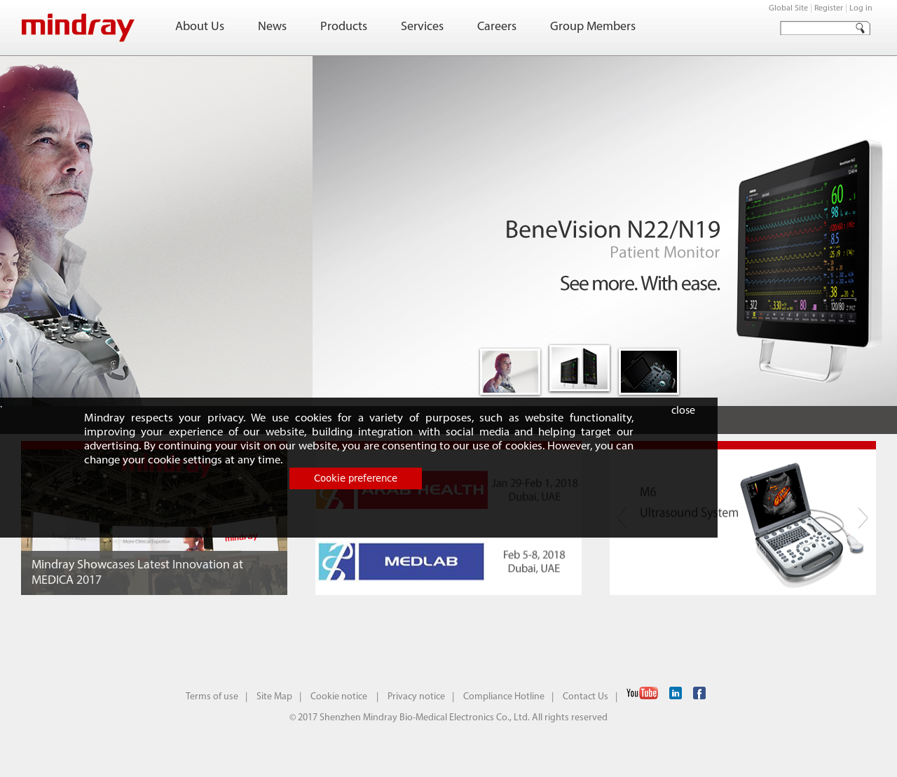 Mindray's Latest News, Blogs, Press Releases & Videos