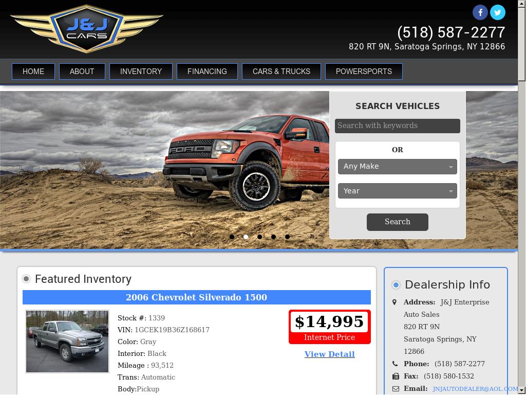 J And J Auto Sales >> J J Enterprise Auto Sales Competitors Revenue And