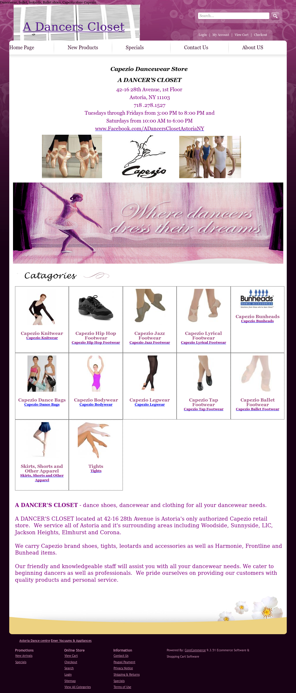 A Dancers Closet Competitors Revenue And Employees Owler