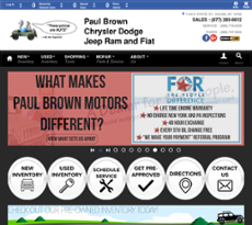 Paul Brown Chrysler Dodge Jeep And Ram Competitors Revenue And