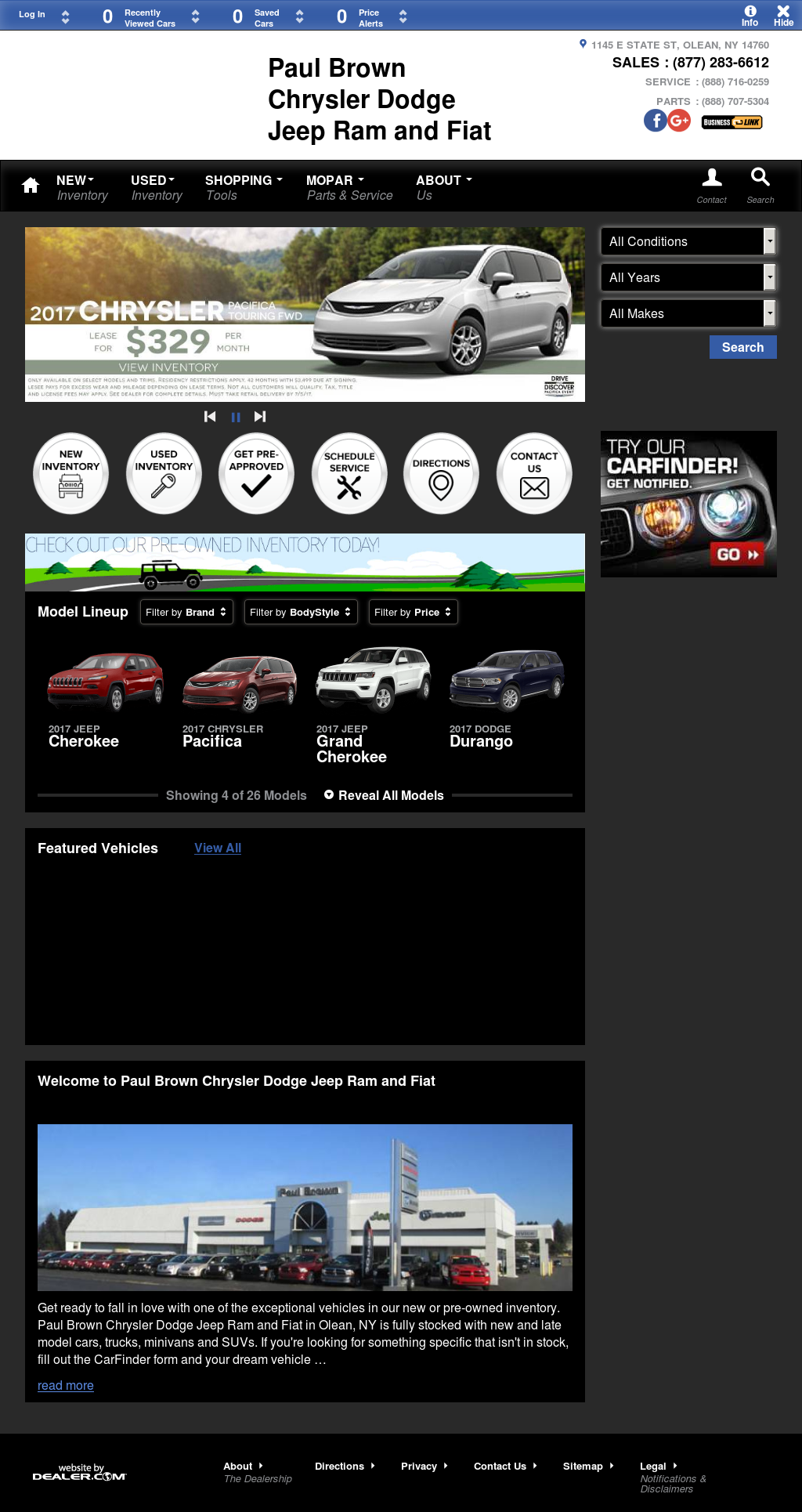 Paul Brown Chrysler Dodge Jeep And Ram petitors Revenue and