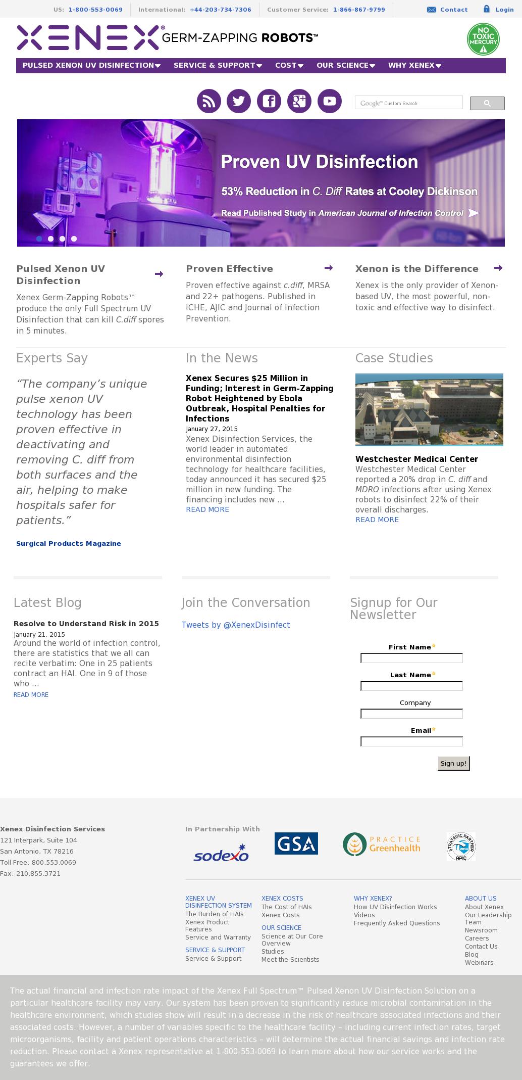 Xenex Competitors, Revenue and Employees - Owler Company Profile