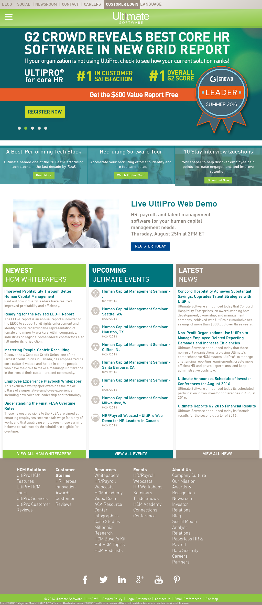 Ultimate Software Competitors, Revenue and Employees - Owler