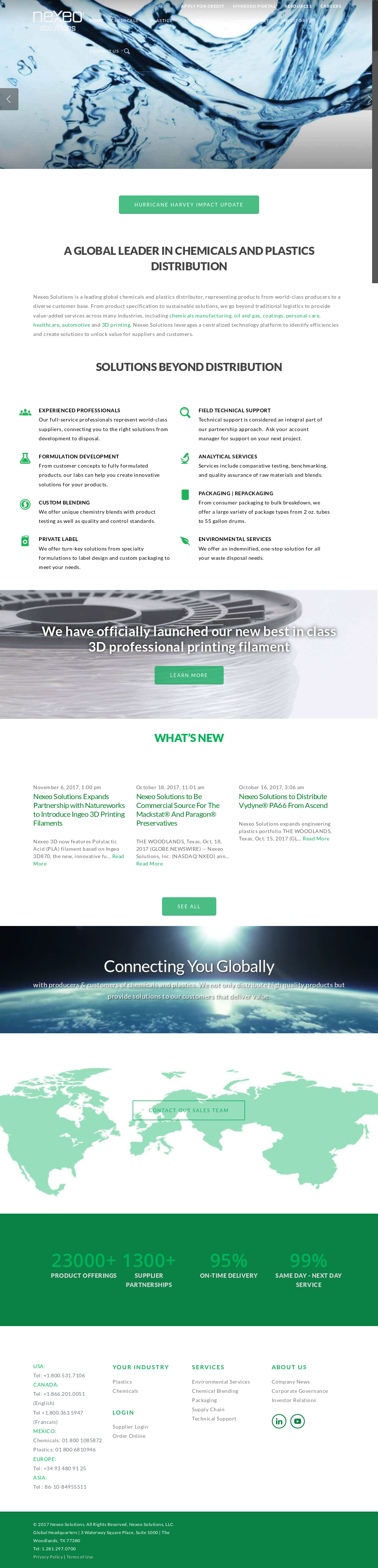 Nexeo Solutions's Latest News, Blogs, Press Releases & Videos