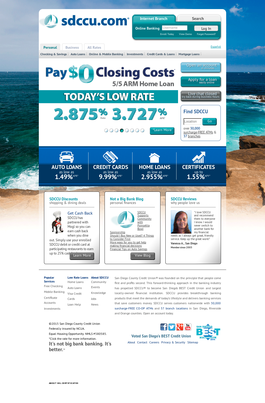 Sdccu Customer Service >> Sdccu Competitors Revenue And Employees Owler Company Profile