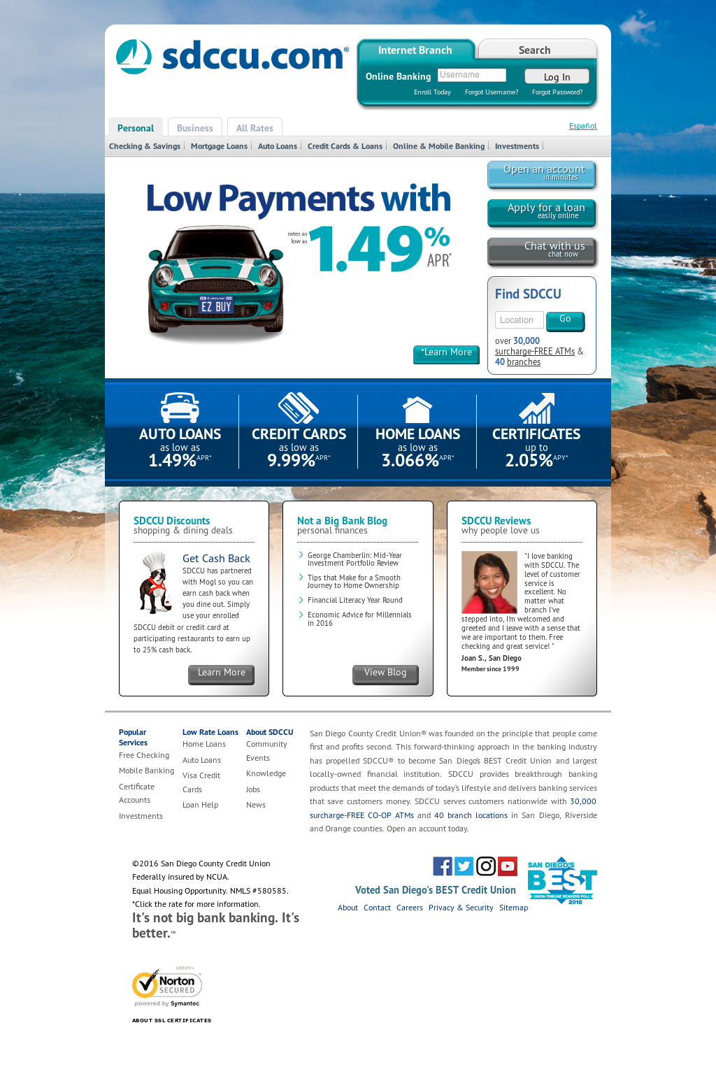 Sdccu Customer Service >> Sdccu Competitors Revenue And Employees Owler Company Profile