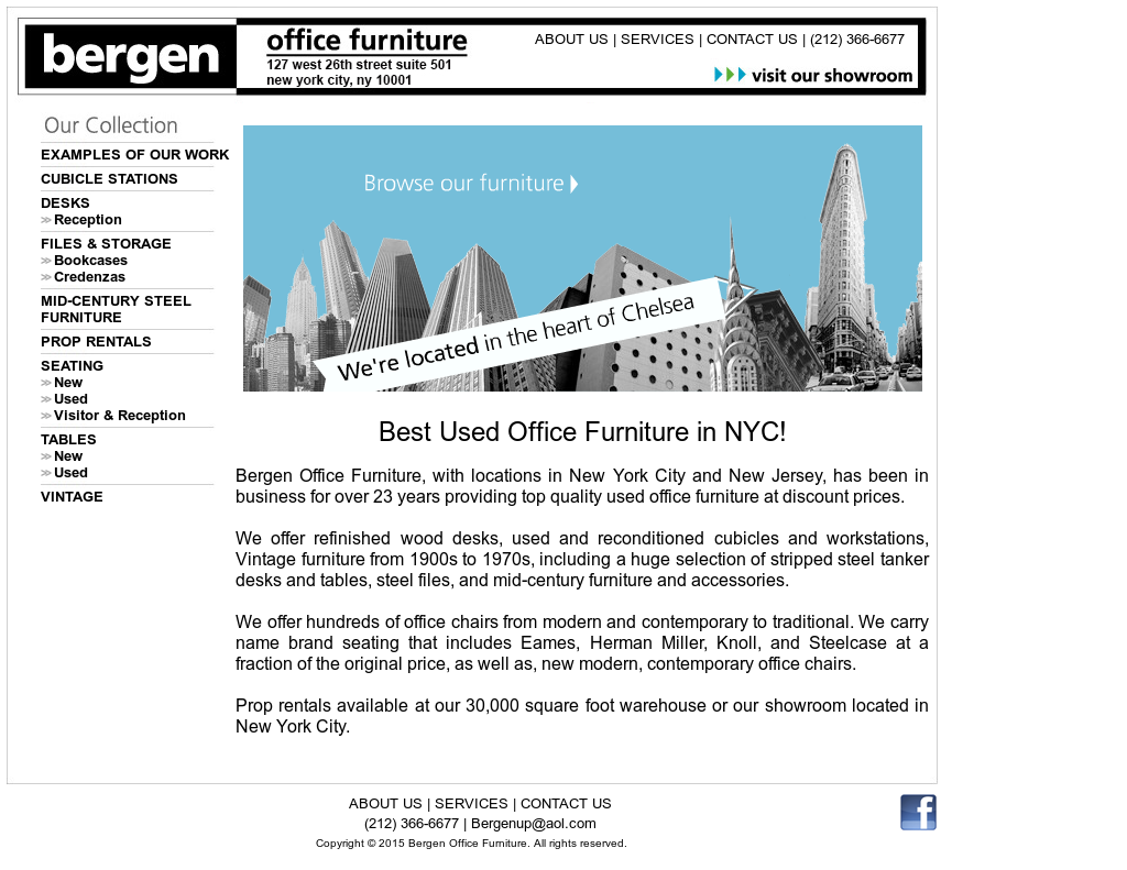 Bergen Office Furniture Competitors Revenue And Employees
