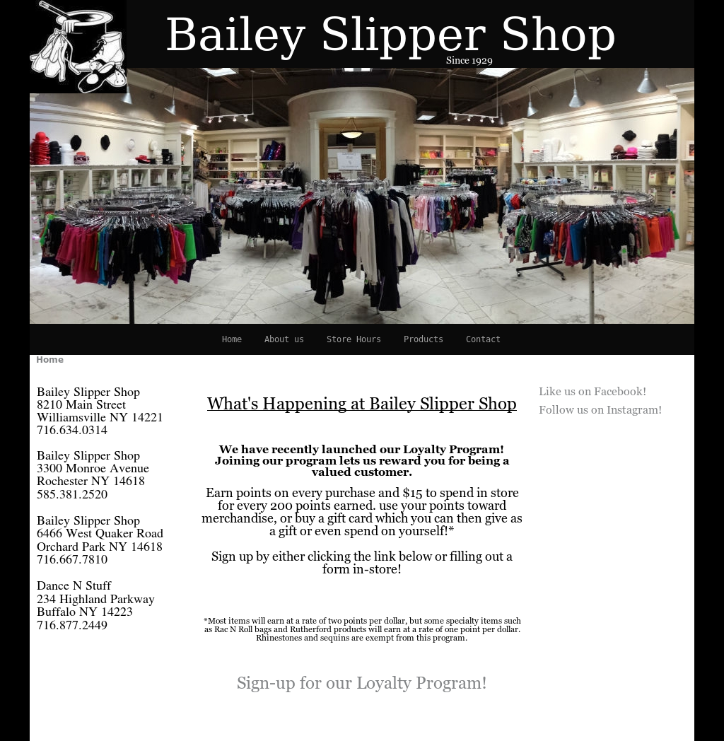 Bailey Slipper Shop Competitors, Revenue and Employees