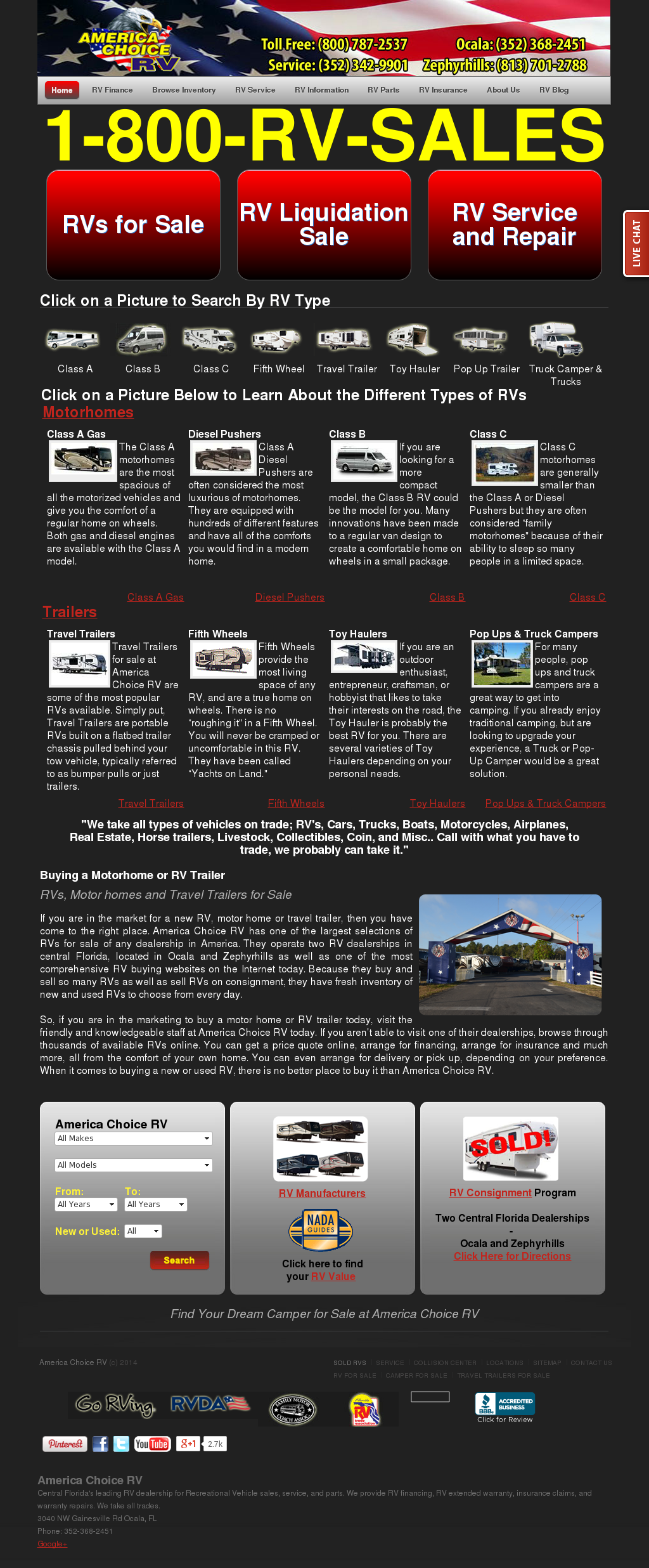 America Choice RV Competitors, Revenue and Employees - Owler