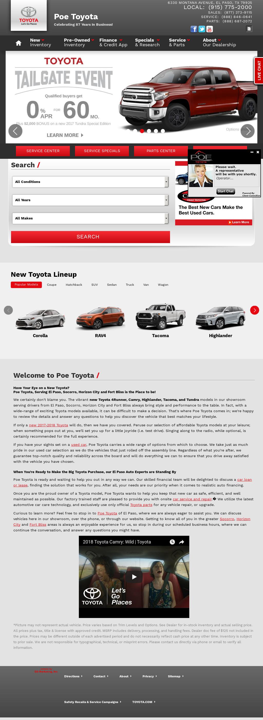 Fox Toyota Of El Paso U003eu003e Toyota El Paso | News Of New Car Release