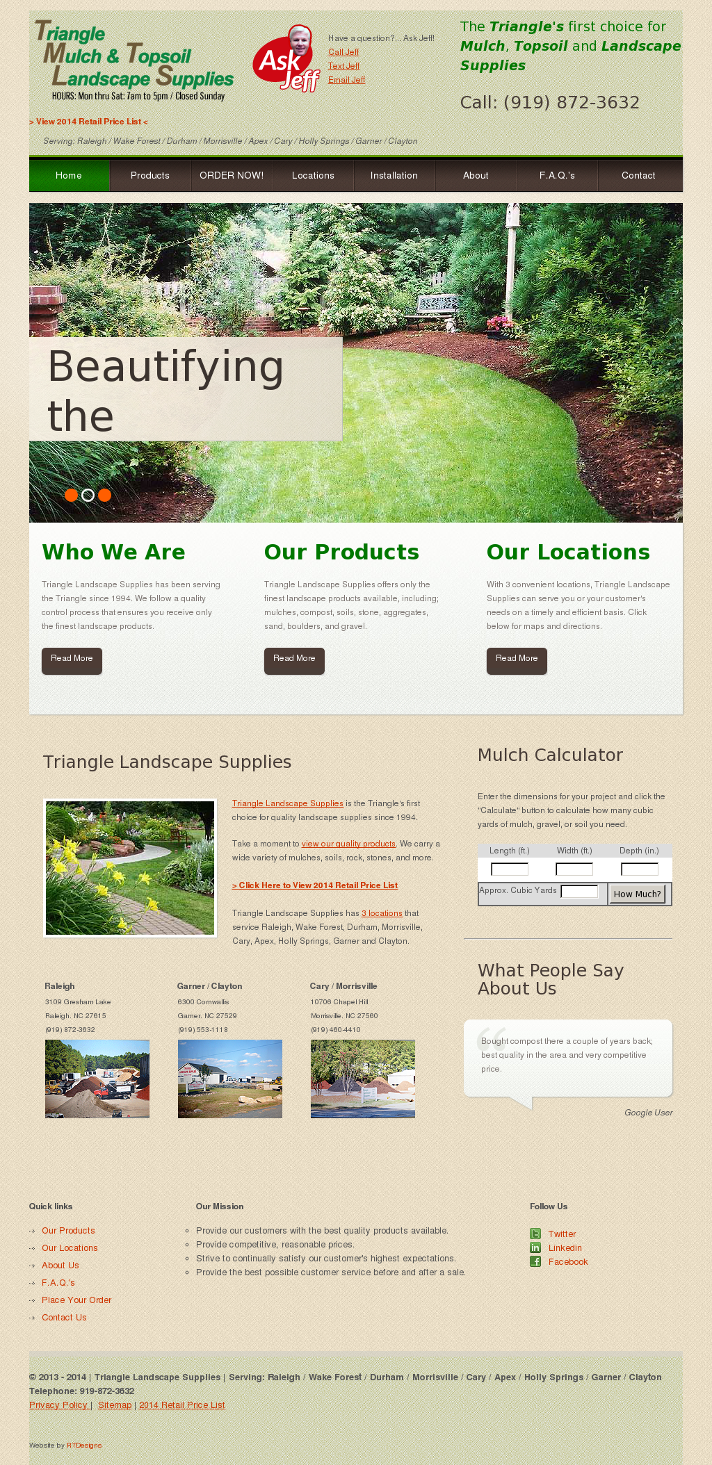 Triangle Landscape Supplies Competitors Revenue And Employees
