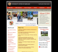 USM website history