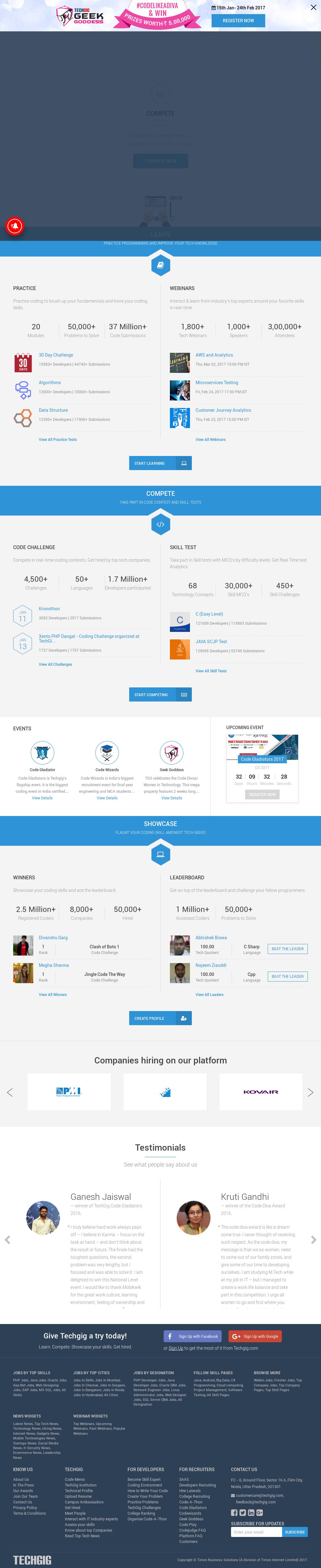 Techgig Competitors, Revenue and Employees - Owler Company Profile